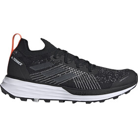adidas TERREX Two Parley Running Shoes Men, core black/grey three/true orange